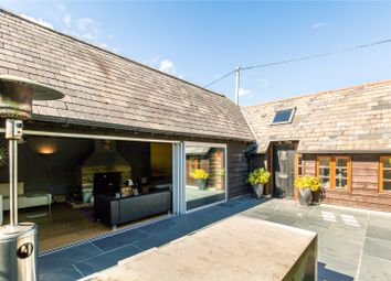 Thumbnail 5 bedroom barn conversion for sale in Brighton Road, Shermanbury, Horsham, West Sussex