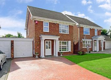 Thumbnail 3 bed detached house for sale in Latimer Drive, Basildon, Essex