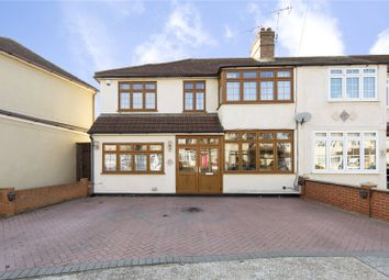 Thumbnail 4 bed end terrace house for sale in Shelley Avenue, Hornchurch