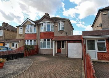 Thumbnail 3 bed semi-detached house for sale in Wennington Road, Rainham