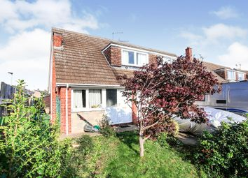 Thumbnail 3 bed semi-detached bungalow for sale in Oakleigh Drive, Orton Longueville, Peterborough