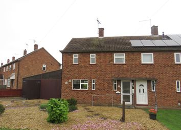 Thumbnail 2 bed semi-detached house for sale in Western Avenue, Dogsthorpe, Peterborough