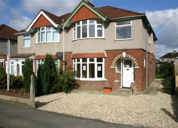 Thumbnail 4 bed semi-detached house for sale in Upham Road, Swindon
