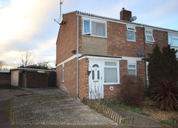Thumbnail 3 bedroom end terrace house for sale in The Planes, Kempston, Bedford