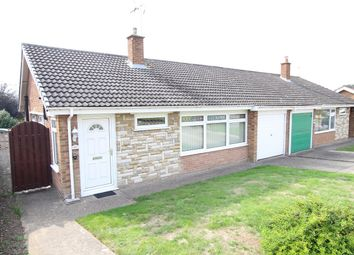 Thumbnail 3 bed semi-detached bungalow for sale in Thornhill Road, Claydon, Ipswich, Suffolk