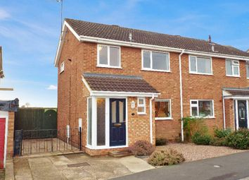 Thumbnail 2 bed semi-detached house for sale in Poplar Close, Irchester, Northamptonshire