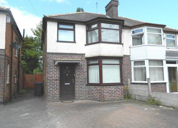 Thumbnail 3 bedroom semi-detached house to rent in Stow Grove, Hodge Hill, Birmingham