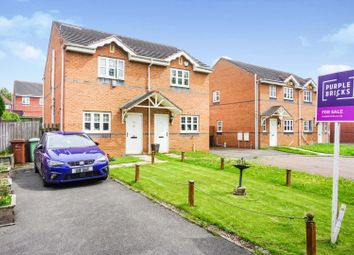Thumbnail 2 bed semi-detached house for sale in Cartmell Court, Leeds