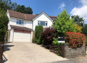 Thumbnail 5 bedroom detached house for sale in Hill Drive, Llantwit Fardre, Pontypridd