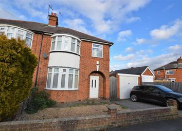 Thumbnail 3 bedroom semi-detached house to rent in Roehampton Drive, Wigston