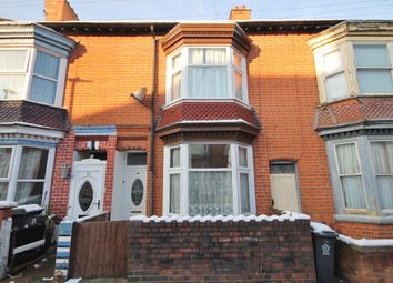 Thumbnail 3 bedroom terraced house to rent in Bramley Road, West End, Leicester