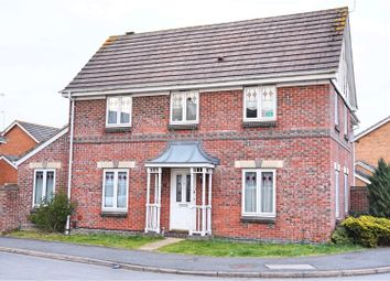 Thumbnail 4 bed detached house for sale in Henman Close, Swindon