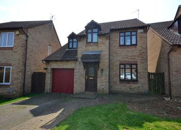 Thumbnail 4 bedroom detached house for sale in Allard Close, Northampton