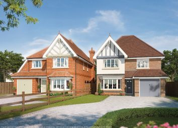 Thumbnail 5 bed detached house for sale in Woodlands, Fern Acre Gardens, Jackets Lane, Northwood