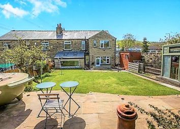 Thumbnail 5 bed semi-detached house for sale in Leeds Road, Halifax