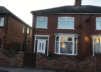 Thumbnail 3 bed semi-detached house to rent in St. Annes Road, Doncaster
