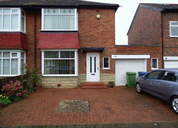 Thumbnail 2 bed semi-detached house for sale in Sherfield Drive, High Heaton, Newcastle Upon Tyne