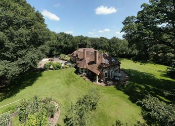 Thumbnail 6 bed detached house for sale in Bluebell Lodge, Long Parish Road, Andover