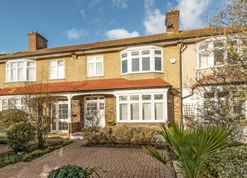 Thumbnail 3 bed terraced house for sale in Charnwood Avenue, Merton Park
