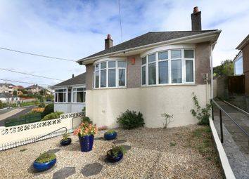 Thumbnail 2 bed detached bungalow for sale in Radford Park Road, Plymstock, Plymouth