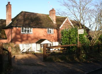 Thumbnail 4 bed semi-detached house for sale in Clivers Cottages, Stockland Green Road, Tunbridge Wells