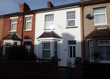 Thumbnail 3 bed semi-detached house to rent in Milner Street, Newport, S Wales.