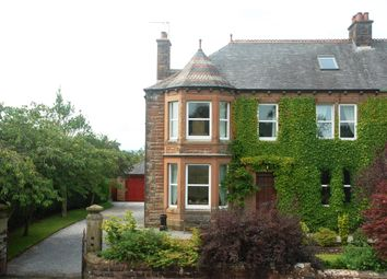 Thumbnail 6 bed semi-detached house for sale in 3 Garnethill, Dumfries Road, Lockerbie