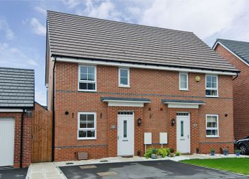 Thumbnail 3 bed semi-detached house for sale in Fitch Croft, Holly Blue Meadows, Burntwood