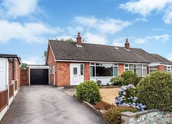 Thumbnail 2 bed semi-detached bungalow for sale in Brooklands Road, Congleton