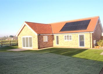 Thumbnail 3 bed detached bungalow for sale in Dawson's Way, Blofield Heath, Norwich, Norfolk