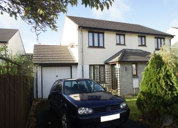 Thumbnail 2 bed semi-detached house to rent in Seneschall Park, Helston