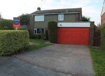 Thumbnail 4 bed detached house to rent in Elm Gardens, Claygate, Esher