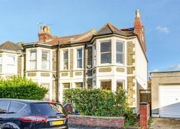 Thumbnail 4 bedroom end terrace house for sale in Monk Road, Bishopston, Bristol