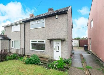 Thumbnail 2 bedroom semi-detached house for sale in St. Withold Avenue, Thurcroft, Rotherham