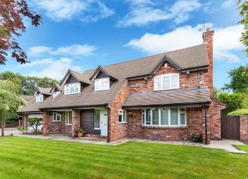 Thumbnail 4 bed detached house for sale in Heathfield Close, Congleton