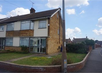 Thumbnail 3 bed end terrace house for sale in Lampits Hill, Corringham, Stanford-Le-Hope