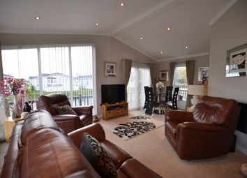 Thumbnail 2 bed mobile/park home for sale in Yarwell, Peterborough