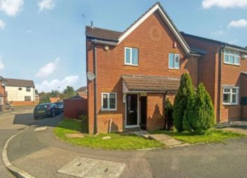 Thumbnail 2 bed end terrace house for sale in Buckingham Drive, Leicester, Leicestershire