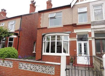 Thumbnail 3 bed semi-detached house for sale in Galloway Road, Fleetwood