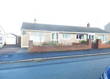 Thumbnail 2 bed semi-detached bungalow for sale in Milton Drive, Workington, Cumbria