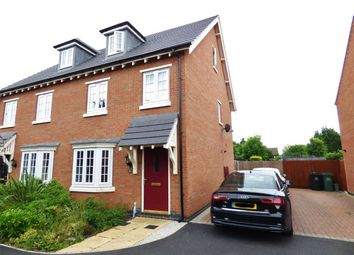 Thumbnail 3 bed semi-detached house for sale in Charlotte Way, Peterborough, Cambridgeshire