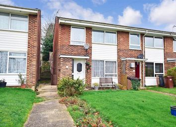 Thumbnail 3 bed end terrace house for sale in Harcourt Close, Uckfield, East Sussex