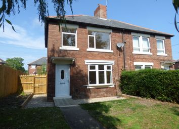 Thumbnail 3 bed semi-detached house to rent in Matlock Square, Lynemouth, Morpeth
