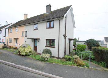 Thumbnail 2 bed end terrace house for sale in Warraton Close, Saltash, Cornwall