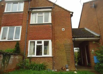 Thumbnail 2 bed end terrace house to rent in Mount Pleasant Road, Leagrave, Luton