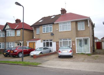 Thumbnail 3 bed semi-detached house to rent in Grange Avenue, Stanmore