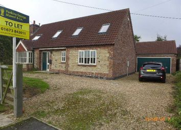 Thumbnail 4 bed detached house to rent in High Street, Glentham, Market Rasen
