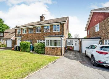 Thumbnail 4 bedroom semi-detached house for sale in Forest View, Nutley, Uckfield, East Sussex
