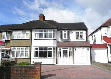 Thumbnail 5 bedroom semi-detached house for sale in Valley Drive, Kingsbury, London