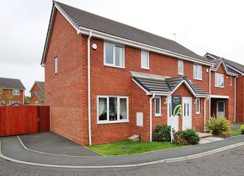 Thumbnail 3 bed semi-detached house for sale in Covington Drive, St Helens